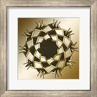 Framed Gold Coffee 10