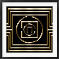 Framed Gold Deco 1