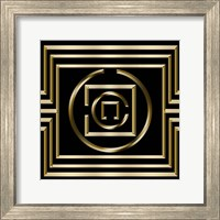 Framed Gold Deco 1
