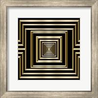 Framed Gold Deco 7