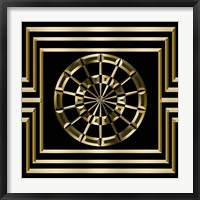 Framed Gold Deco 8