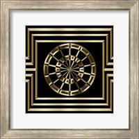 Framed Gold Deco 8