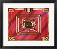 Framed Art Deco Design 2020B