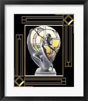 Framed Art Deco Lamp