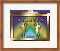 Framed Atlanta Prohibition