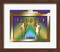Framed Houston Prohibition