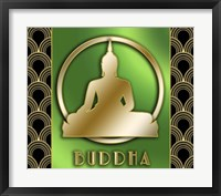 Framed Buddha And Circle 2