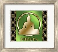 Framed Buddha And Circle 2