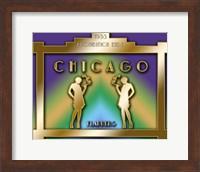 Framed Chicago Prohibition