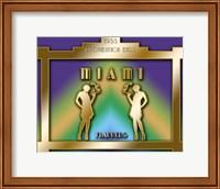 Framed Miami Prohibition