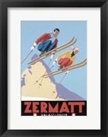 Framed Zermatt Valais Suisse