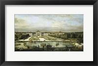 Framed Baroque Nymphenburg Palace By Bernardo Bellotto 1760