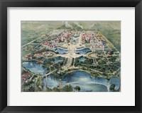 Framed Pan-American Exposition, Buffalo Ny 1901