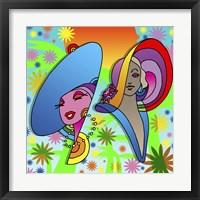Framed 2 Ladies