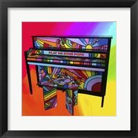 Framed Piano