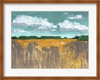 Framed Autumn Wheat
