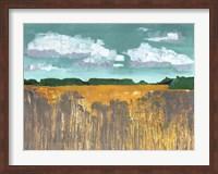 Framed Autumn Wheat