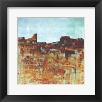 Framed Desert Landscape