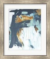 Framed Gilded Abstract