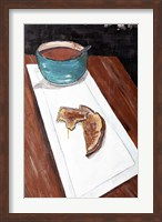 Framed Grilled Cheese And Tomato Soup