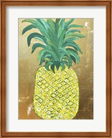 Framed Pineapple Gold