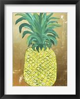 Framed Pineapple Gold