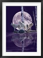 Framed Moonset Point