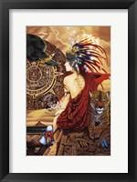 Framed Aztec Dawn