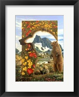 Framed Bearly Where Bearly There