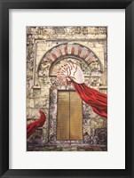 Framed Behind The Door