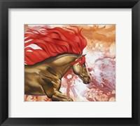 Framed Blood Of The Stallion