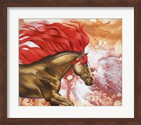 Framed Blood Of The Stallion
