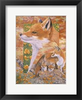 Framed Foxes