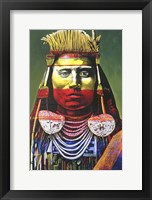 Framed Indian Chief