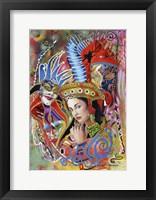 Framed Mardi Gras