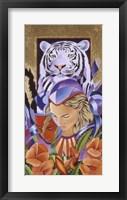 Framed Tiger Think