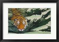 Framed Tiger Waters