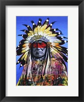 Framed Wisdom Of The Warrior