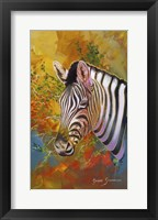 Framed Zebra Days