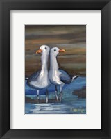 Framed Lovebirds II