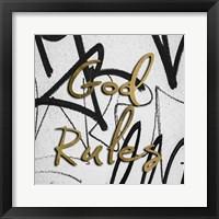 Framed Rock N Rule I