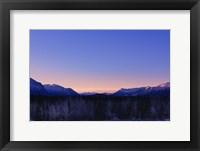 Framed Alpenglow