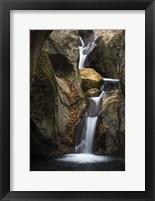 Framed Autumn Waterfall