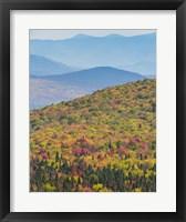 Framed Blazing Mountain