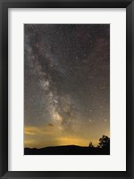 Framed Milky Way Ridge