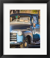 Framed Old Chevy