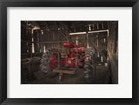 Framed Old Farmall