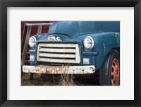 Framed Old Gmc Truck