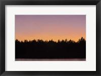 Framed St. Regis Sunset