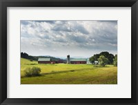 Framed Vermont Farm